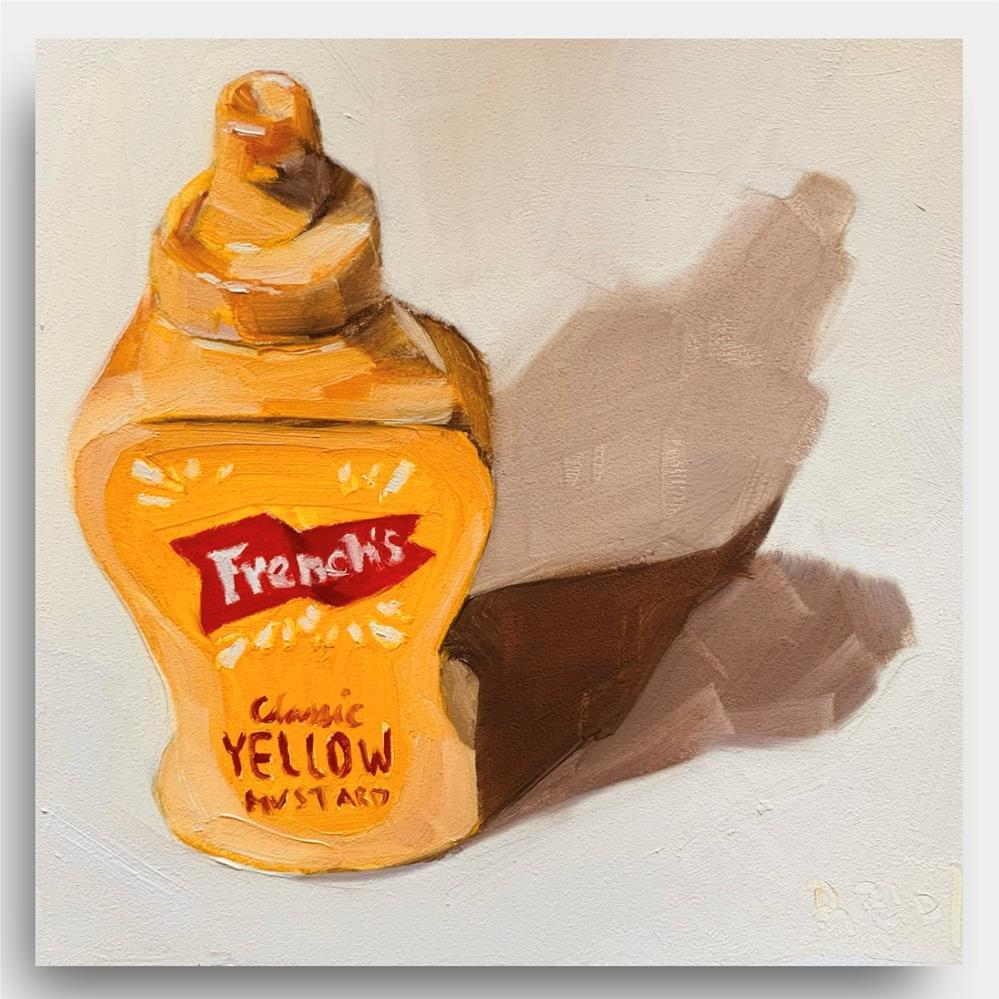 """""""872 For the Love of Mustard"""" original fine art by Jenny Doh"""