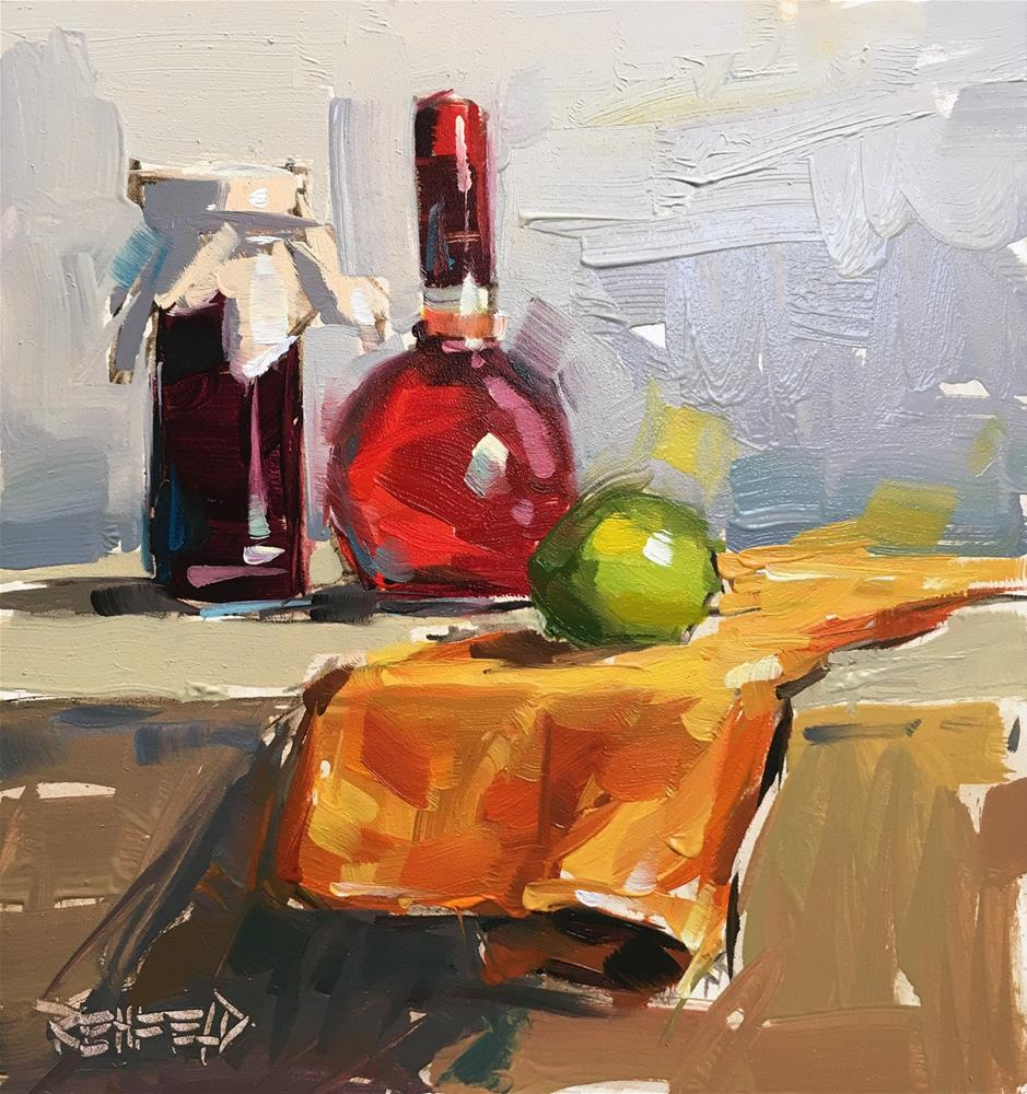 """Kitchen Objects of Desire"" original fine art by Cathleen Rehfeld"