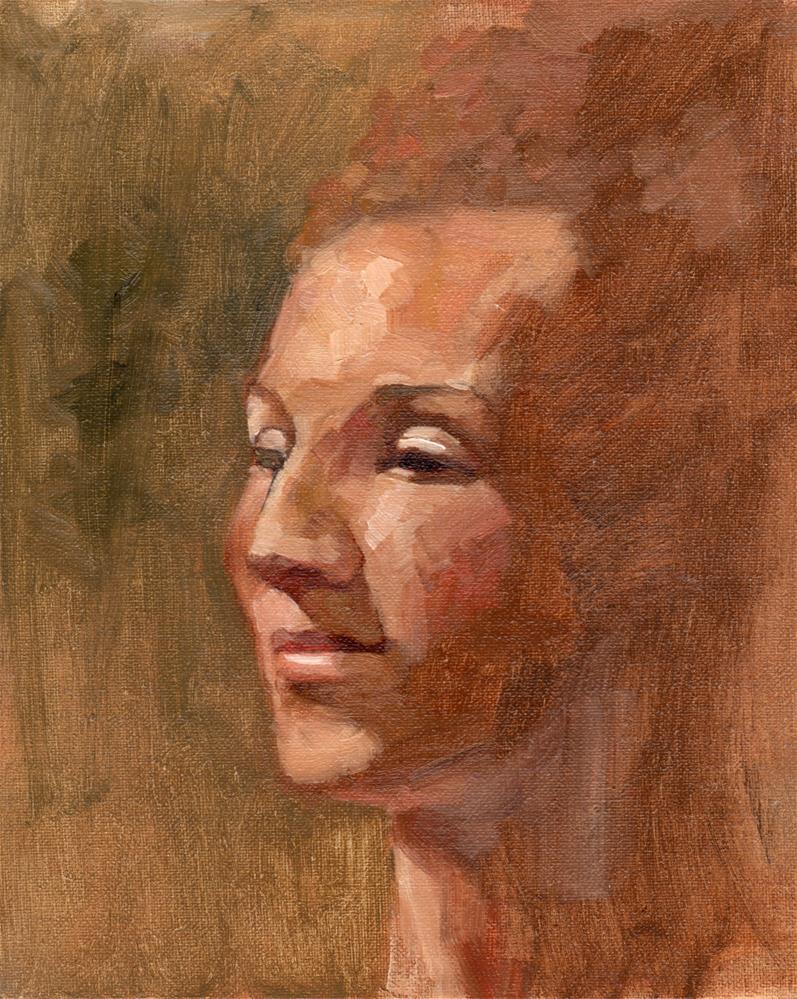 """Carlin"" original fine art by Marlene Lee"