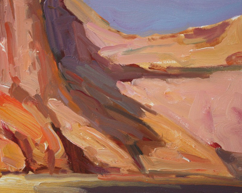 """Canyon de Chelly Sketch 2"" original fine art by Kathryn Townsend"