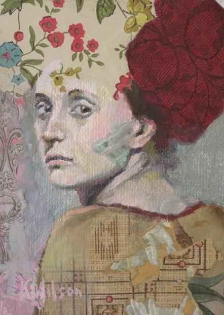 """""""Over the Shoulder"""" original fine art by Katie Wilson"""
