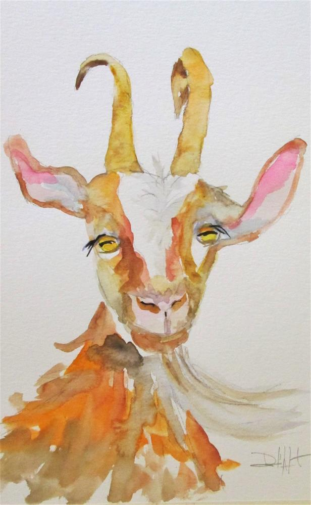 """Goat No. 7"" original fine art by Delilah Smith"