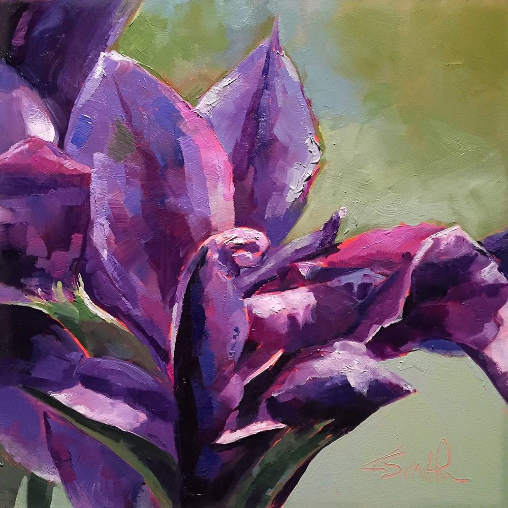 """live colorfully"" original fine art by Kim Smith"