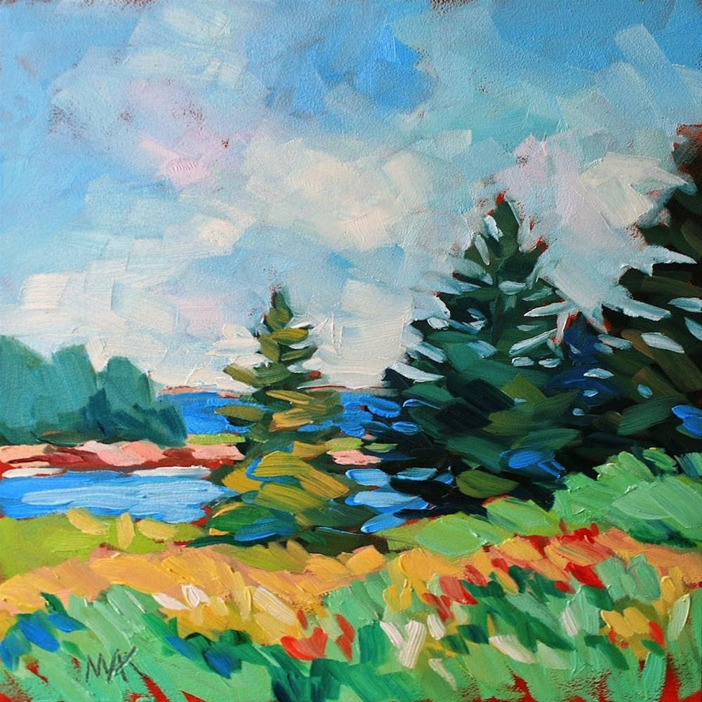 """""""A Day on Vinalhaven 2"""" original fine art by Mary Anne Cary"""