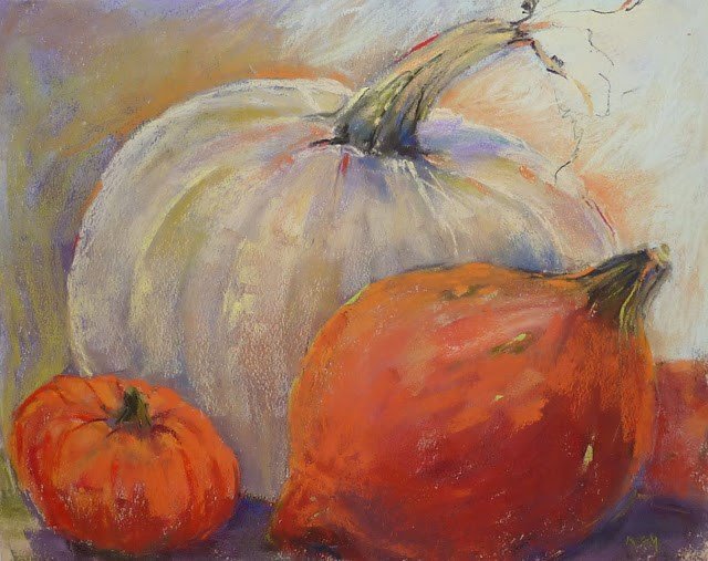"""How I Got Started with Pastels"" original fine art by Karen Margulis"