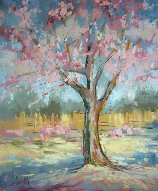"""Color Inspiration from a Thrift Store Find"" original fine art by Karen Margulis"
