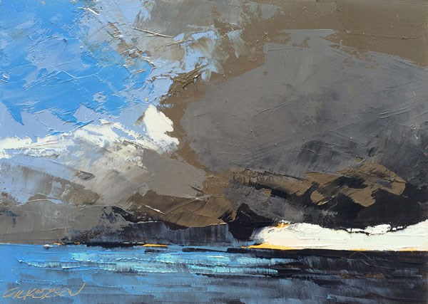"""""""Squall Line"""" original fine art by Mary Gilkerson"""
