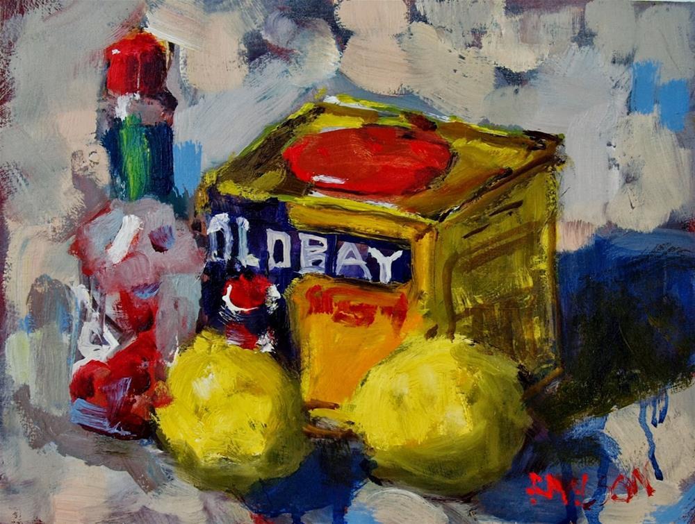 """Spice"" original fine art by Rick Nilson"