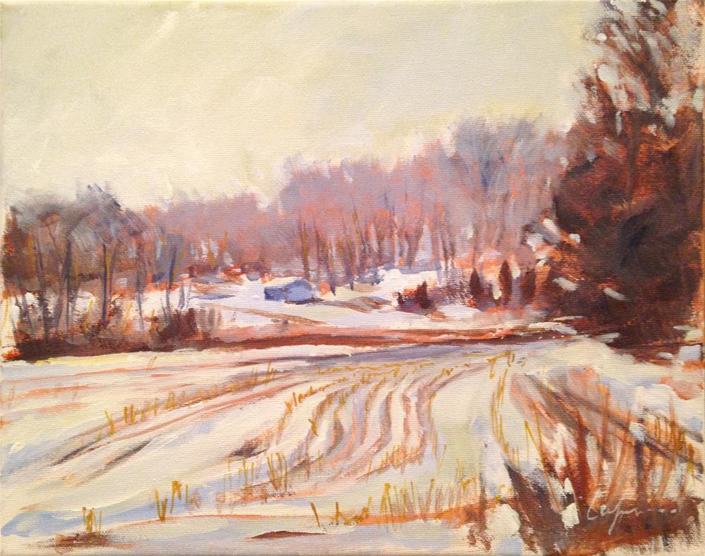"""Madison County, IA"" original fine art by Cornelis vanSpronsen"
