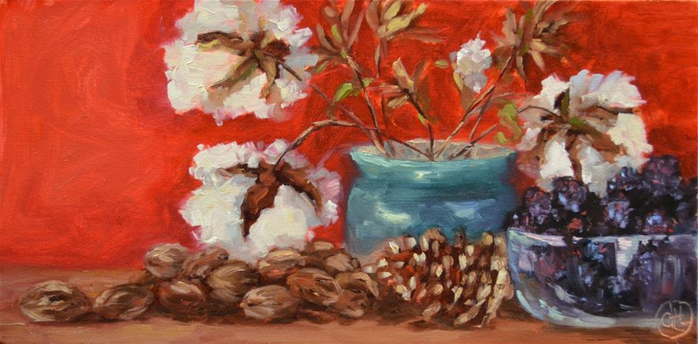"""a southern convocation"" original fine art by Dottie  T  Leatherwood"