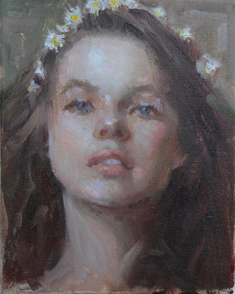 """Daisy Chain"" original fine art by Johanna Spinks"