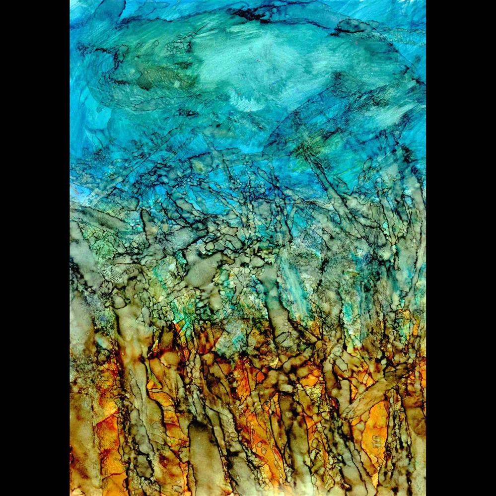 """Storm Brewing"" original fine art by Kris Alge"