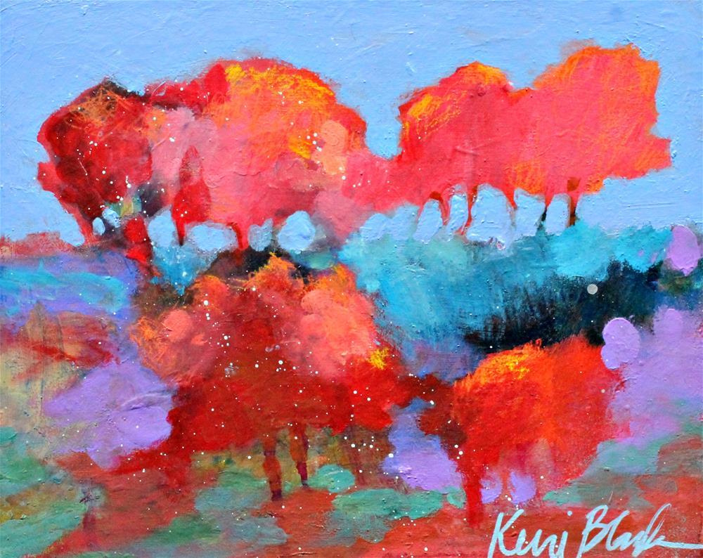 """One Day in September "" original fine art by Kerri Blackman"