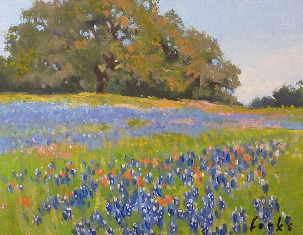 """Hallettsville Splendor"" original fine art by David Forks"