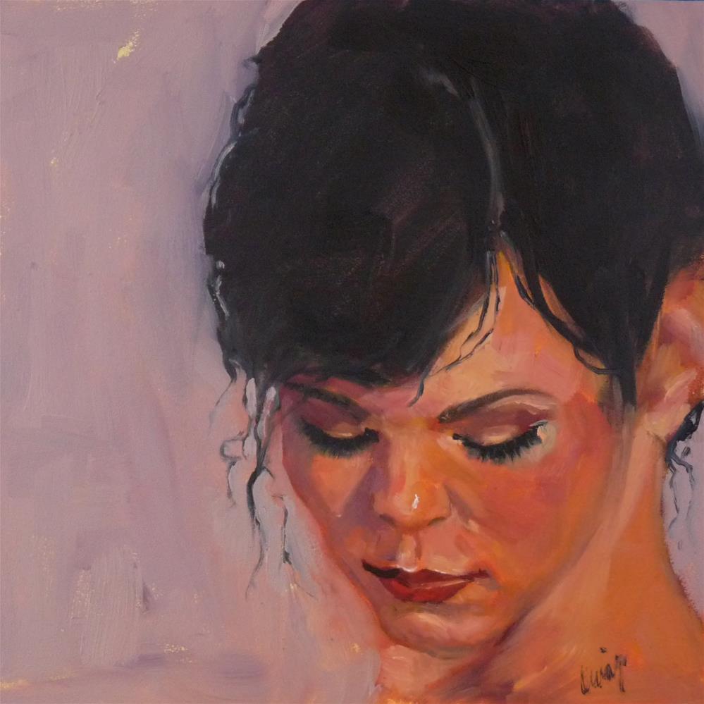 """Just a Dusting"" original fine art by Sharman Owings"
