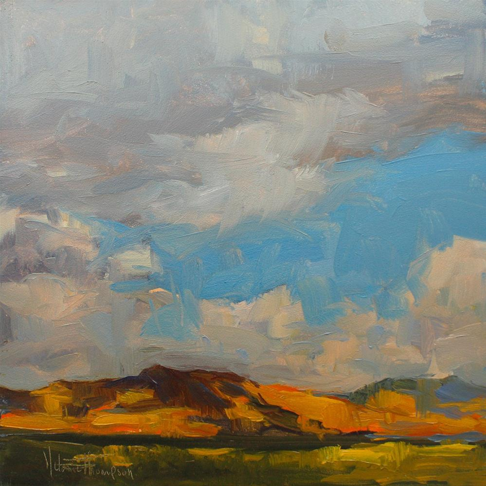 """Under a Southwest Sky I"" original fine art by Melanie Thompson"