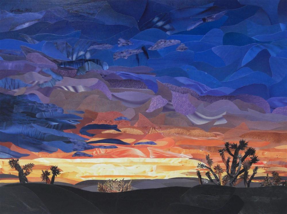 """Midsummer's Sunset"" original fine art by Cynthia Frigon"