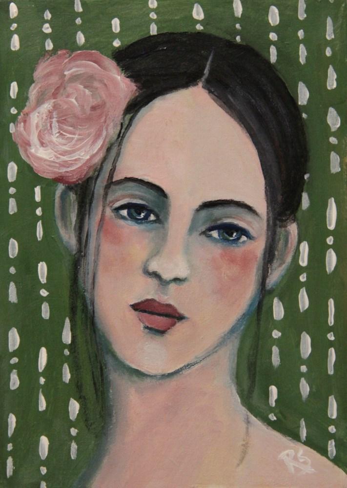 """Danielle"" original fine art by Roberta Schmidt"