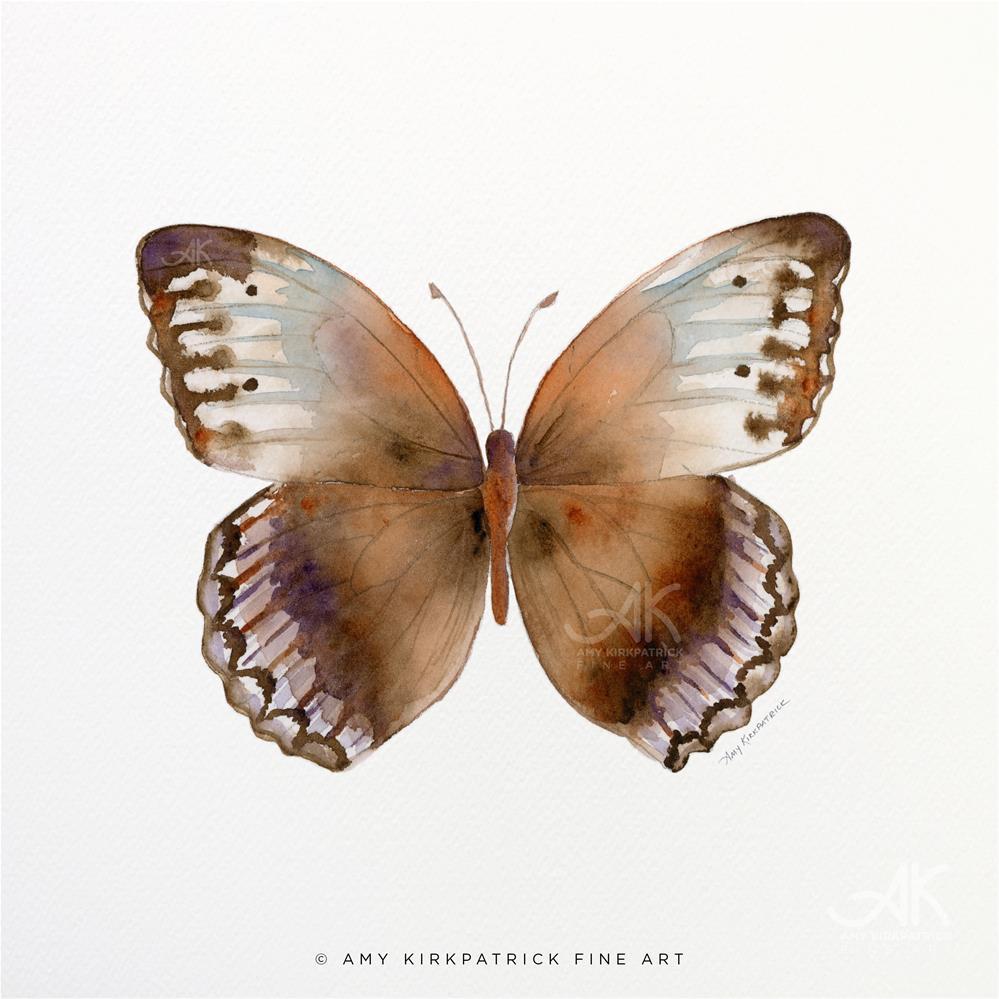 """""""#79 Jungle Queen Butterfly #0389"""" original fine art by Amy Kirkpatrick"""