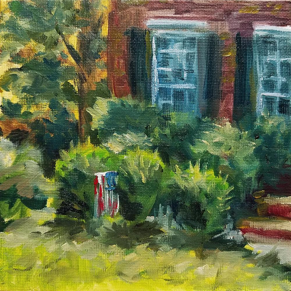 """""""Home PleinAir"""" original fine art by Gabriella DeLamater"""