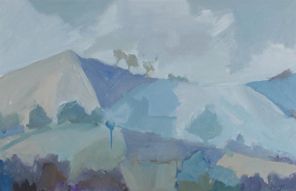 """Patchwork"" original fine art by Pamela Munger"