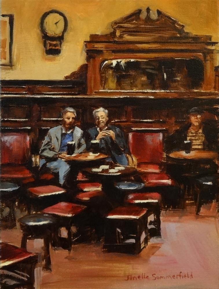 """The Palace Bar II"" original fine art by Jonelle Summerfield"