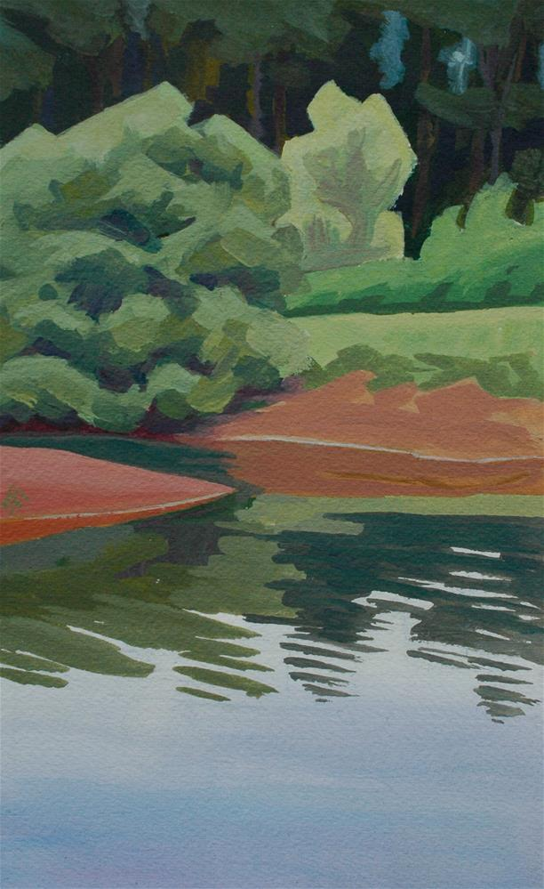 """Calapooia River"" original fine art by Mark Allison"