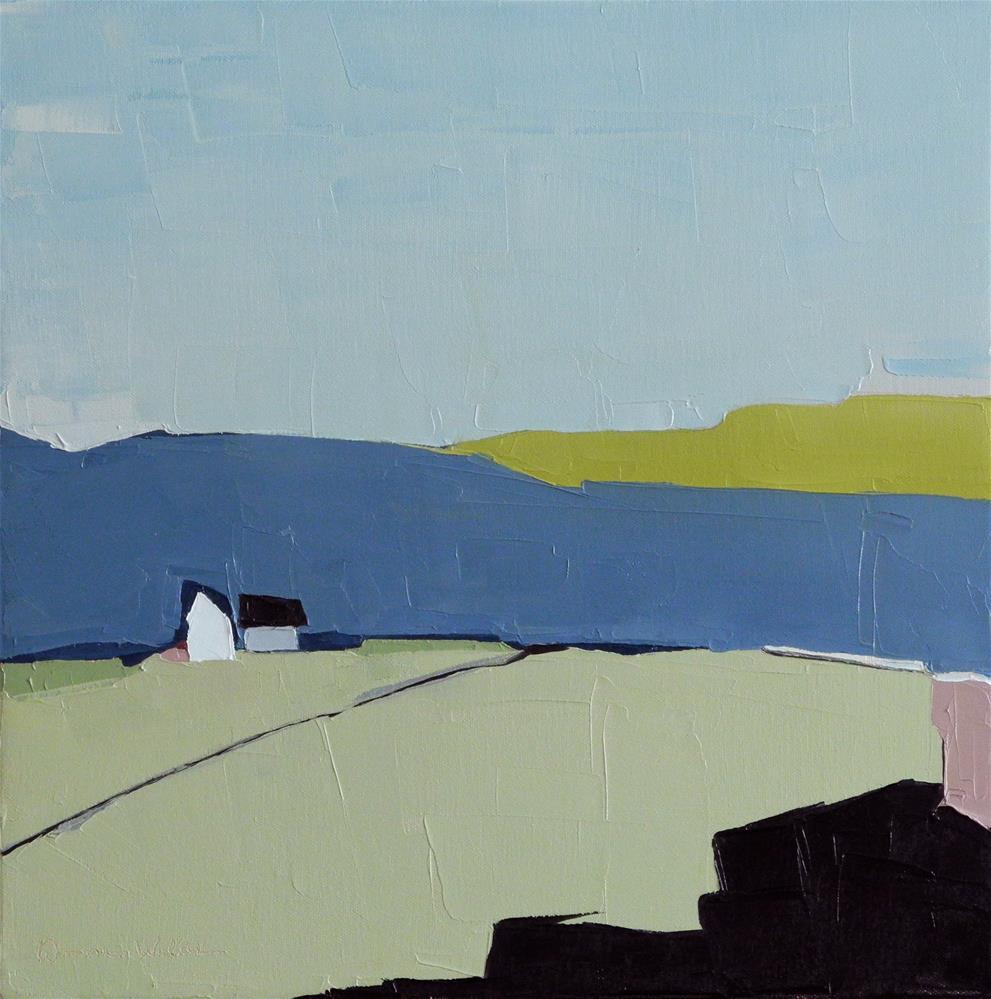 """Solitude"" original fine art by Donna Walker"