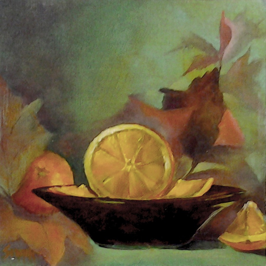 """Flavor of Fall"" original fine art by A.K. Simon"