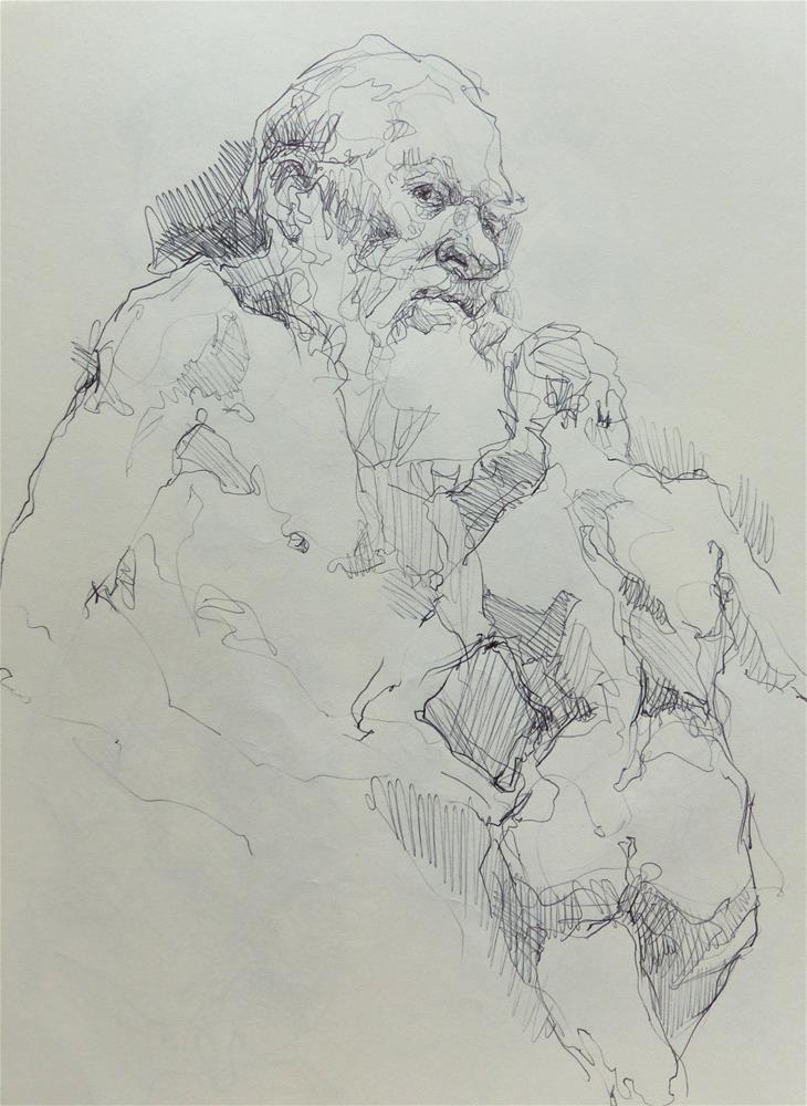 """sketchbook96"" original fine art by Katya Minkina"