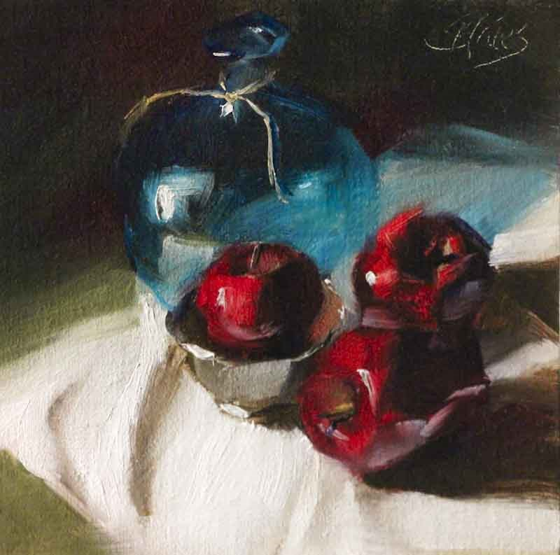 """Red Delicious"" original fine art by Pamela Blaies"