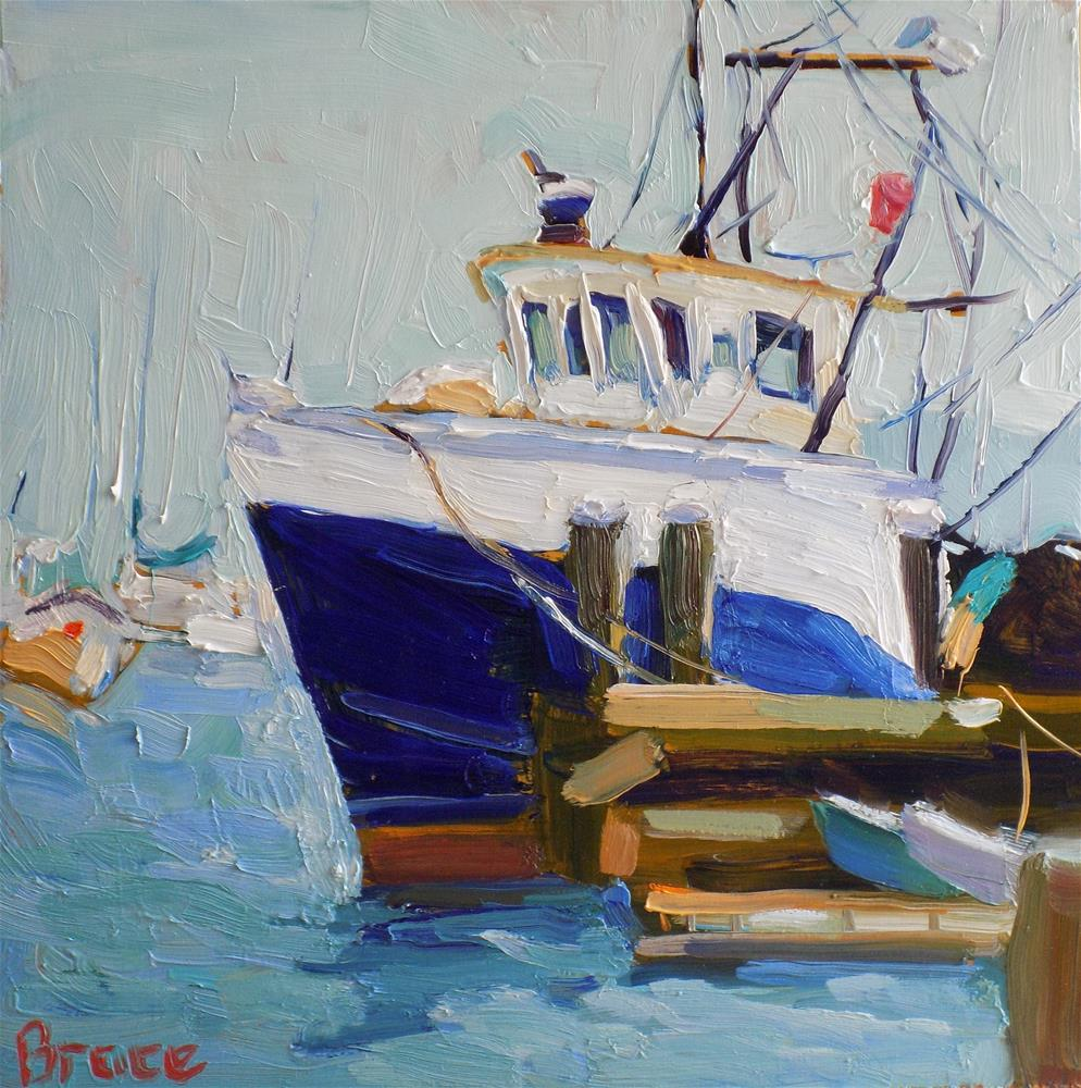 """Fishing Vessel"" original fine art by Rita Brace"