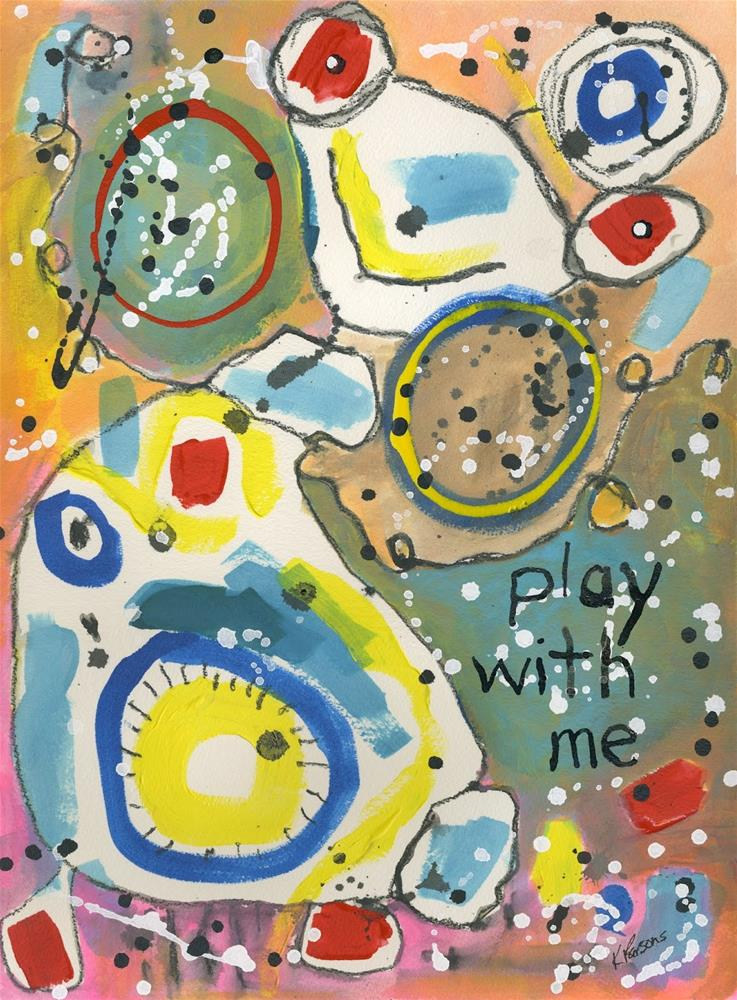 """Play With Me"" original fine art by Kali Parsons"