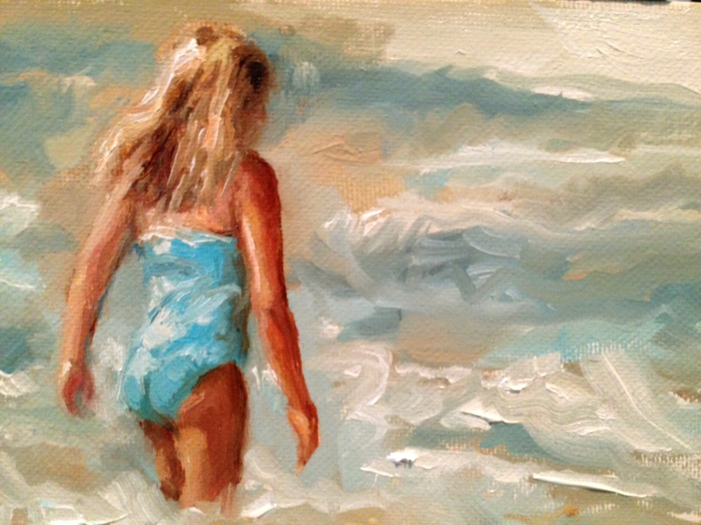 """""""Last Day of Summer"""" original fine art by Marcia Hodges"""