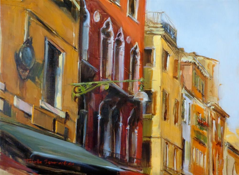 """Venetian Facades"" original fine art by Jonelle Summerfield"