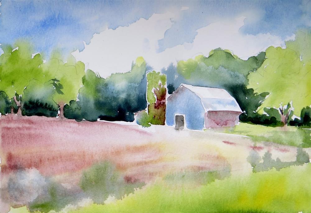 """Rogersville Farm"" original fine art by Tammie Dickerson"