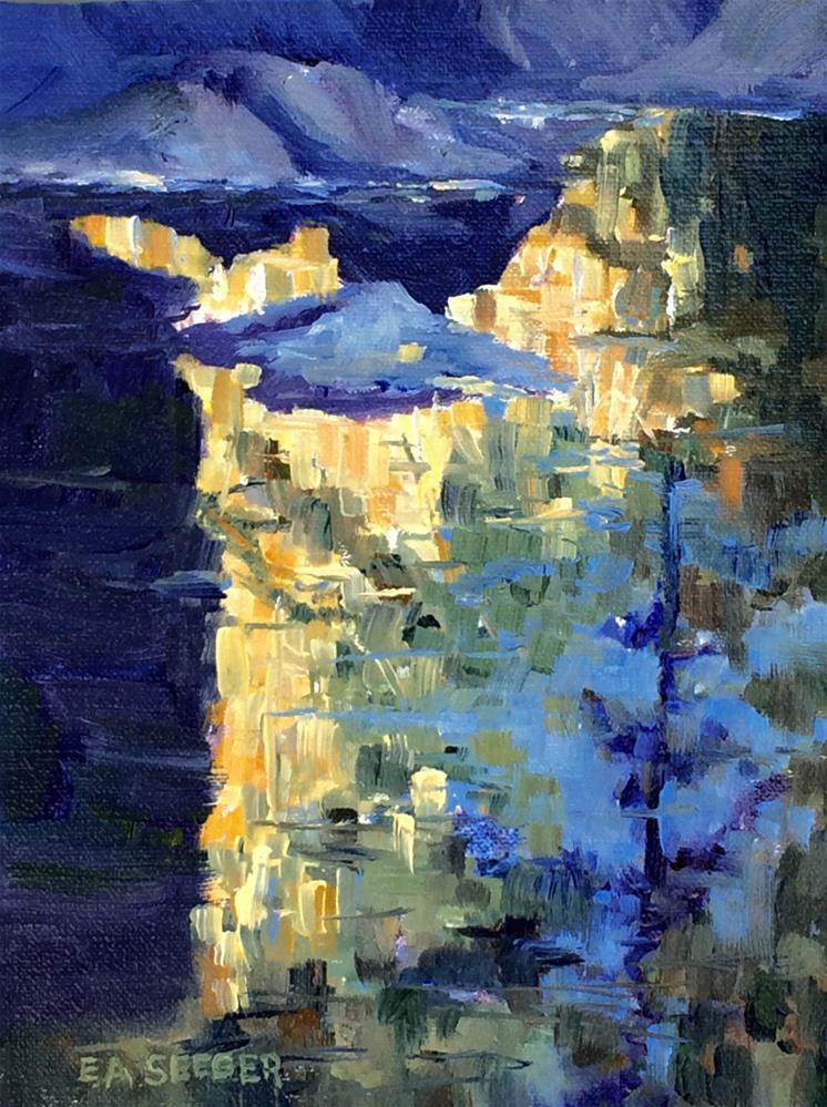 """Fall Reflections"" original fine art by Elisabeth Seeger"