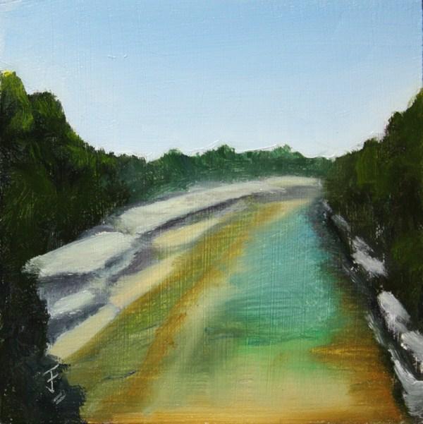 """Walnut Creek"" original fine art by Jane Frederick"