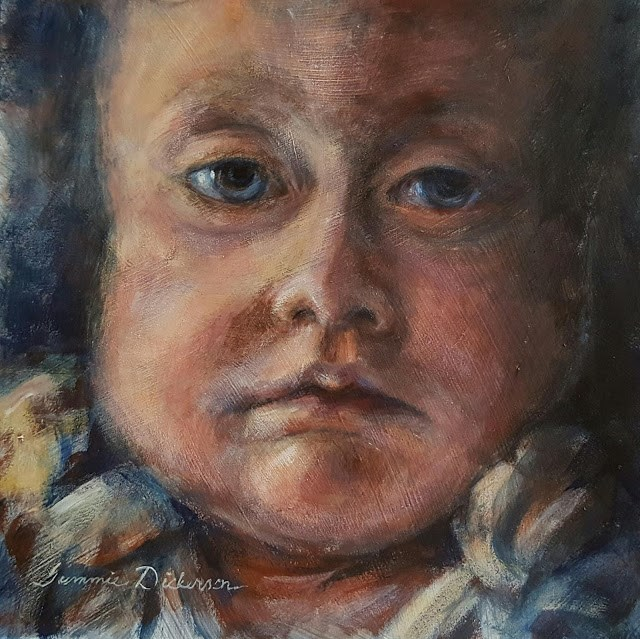 """Impressions of Nolan"" original fine art by Tammie Dickerson"