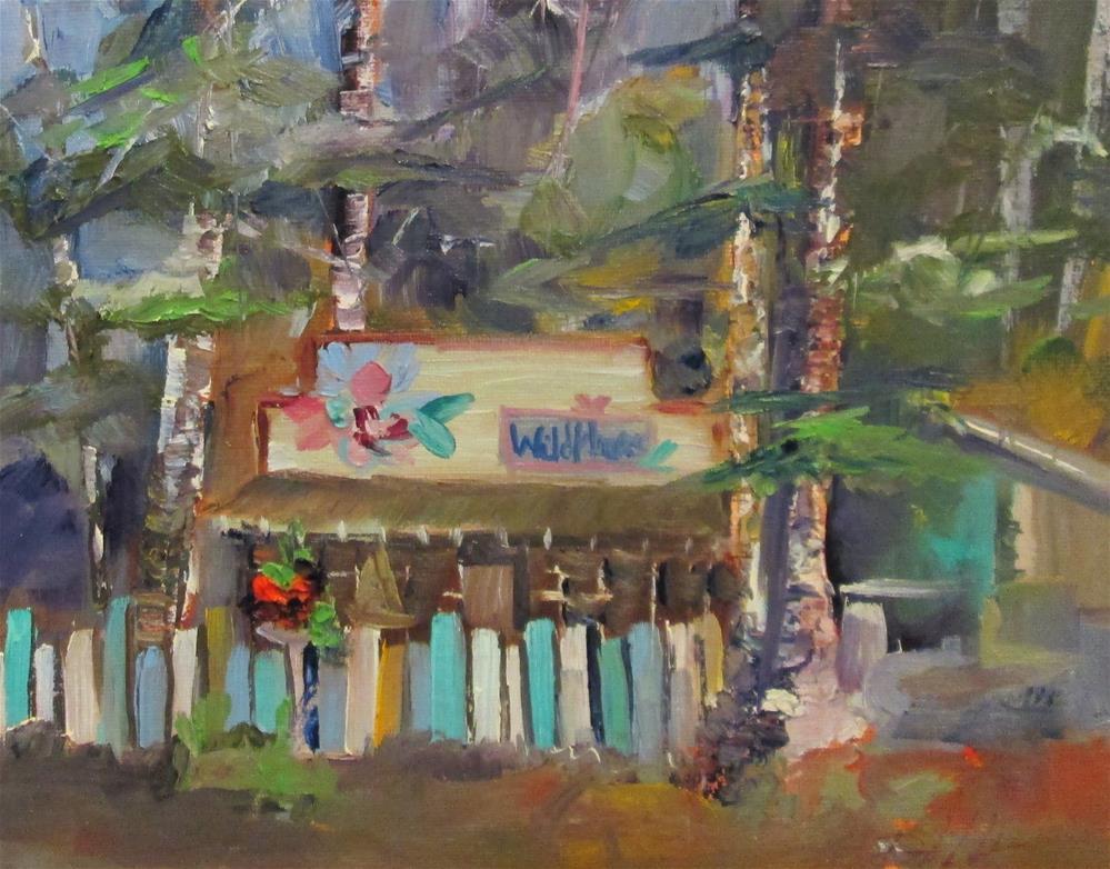 """The Wild Flower"" original fine art by Delilah Smith"