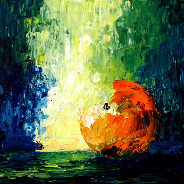 """""""Orange"""" original fine art by Anna Vreman"""