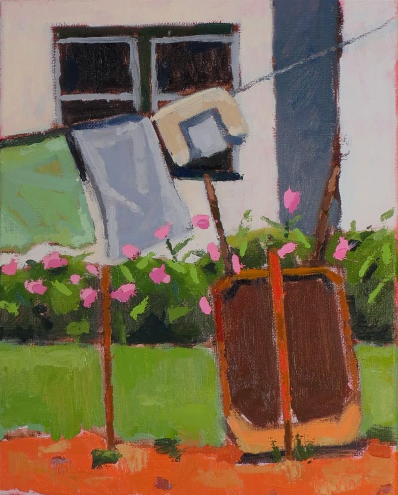 """Peonies At Last"" original fine art by Joan Wiberg"