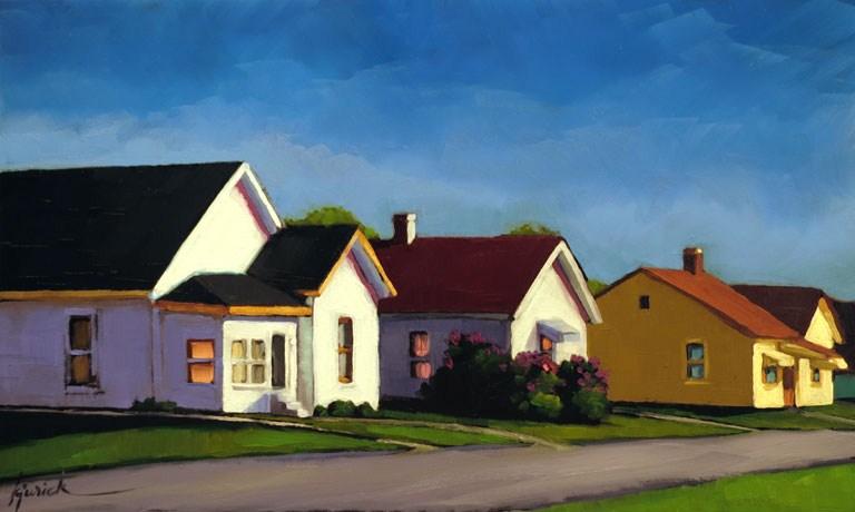 """""""Early in Sterling"""" original fine art by Karin Jurick"""