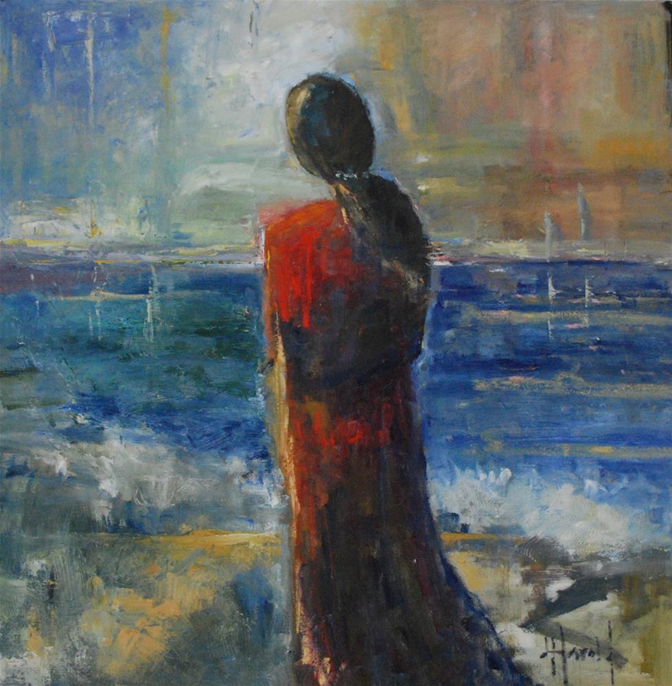 """A New Year"" original fine art by Deborah Harold"