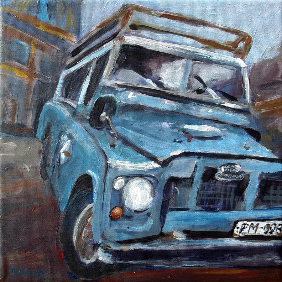 """0611 Jeepy"" original fine art by Dietmar Stiller"