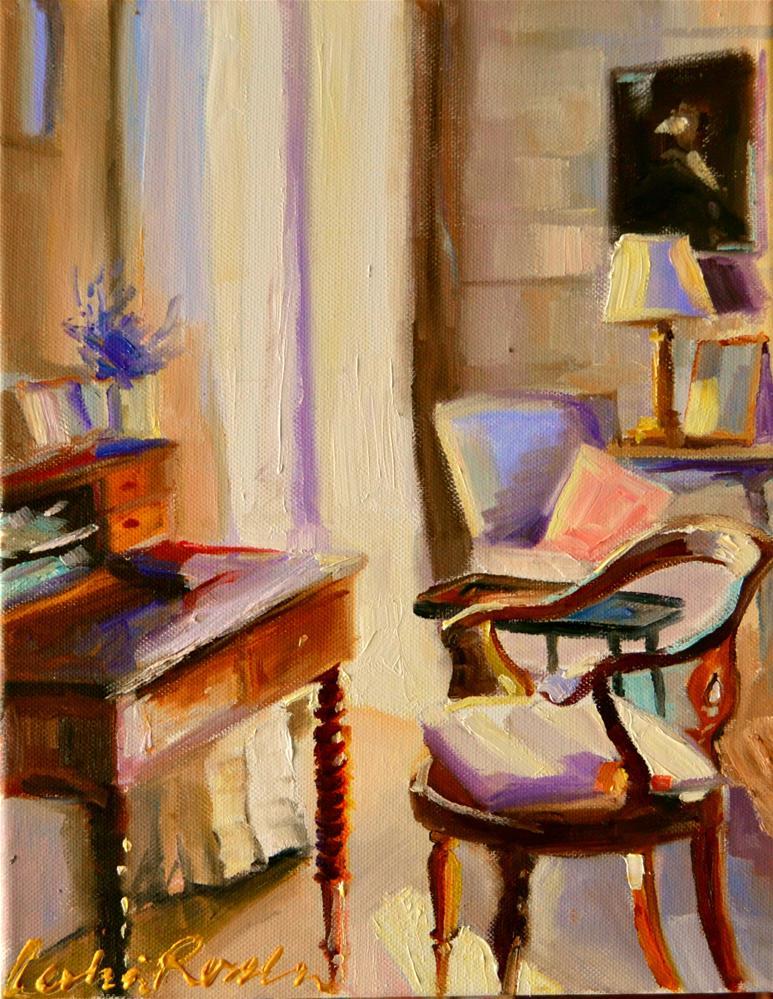 """HOUT LESSENAAR"" original fine art by Cecilia Rosslee"