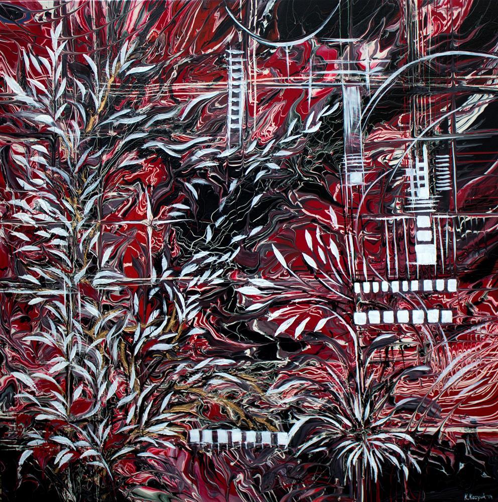 """Everything Can Be Creative"" original fine art by Khrystyna Kozyuk"