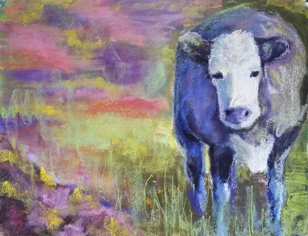 """""""On the Loose"""" original fine art by Anna Lisa Leal"""