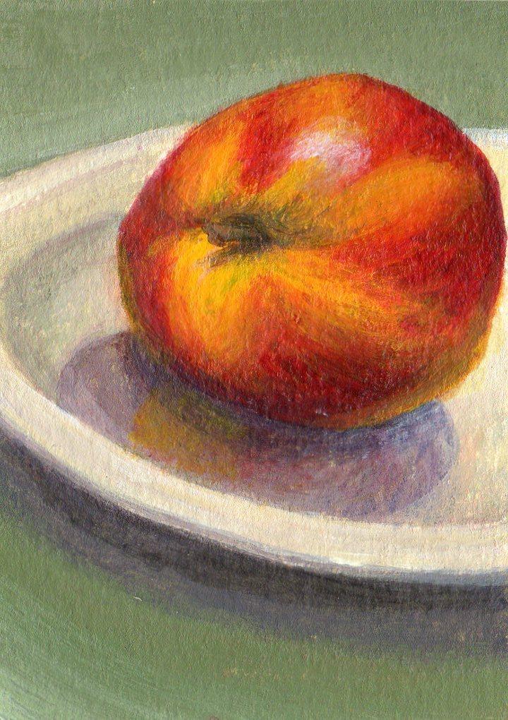 """Fragrant Fruit"" original fine art by Debbie Shirley"