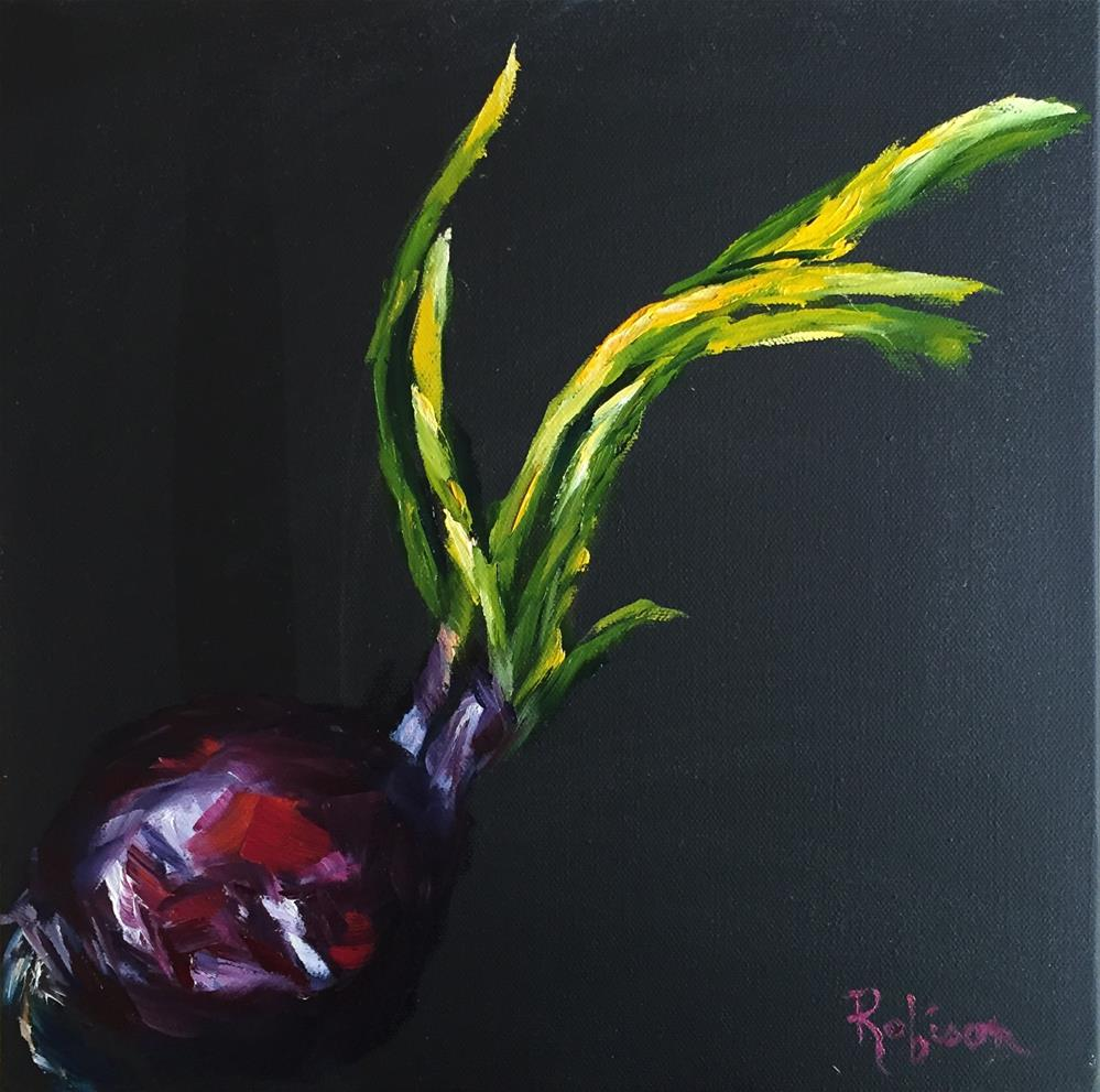 """Deep Purple"" original fine art by Renee Robison"